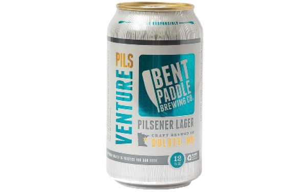 Can of Bent Paddle beer