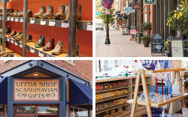 Red Wing shops