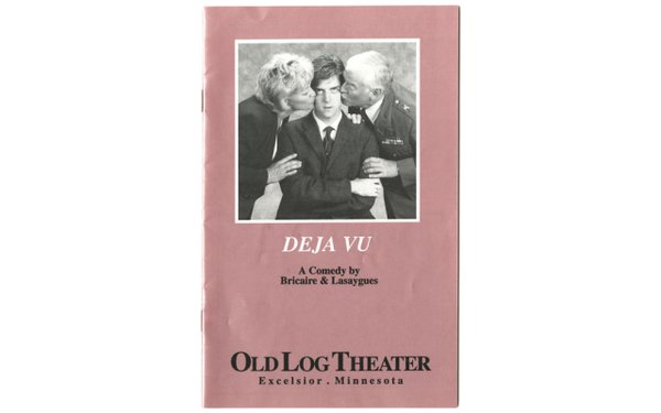 Old Log theater play bill