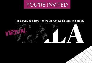 Housing First Minnesota Foundation Virtual Gala Information