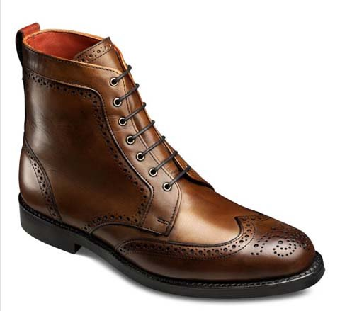 Small world: the Allen Edmonds Dalton boot was designed by Twin Cities architect Jim Dayton, who also designed the retailer's new store prototype.