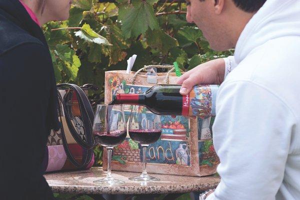 Wine at Carlos Creek Winery