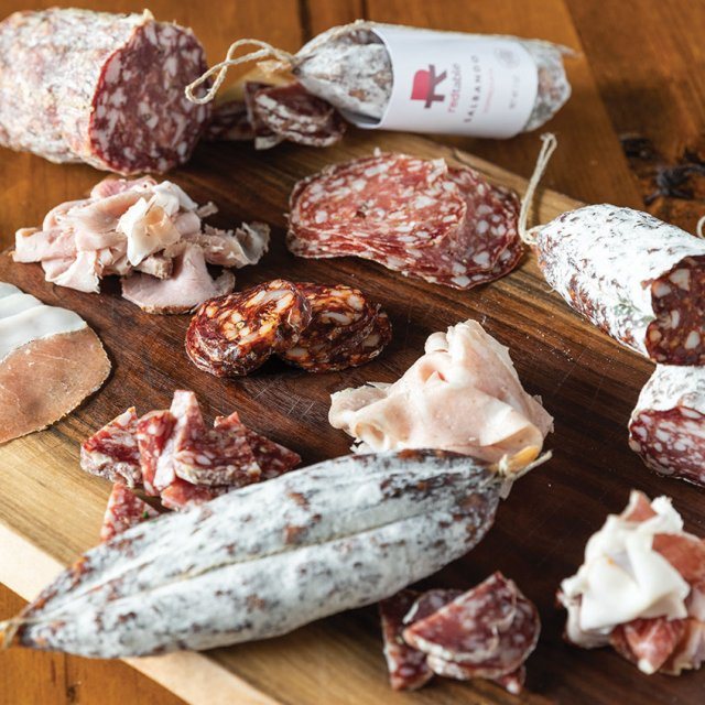A selection of Red Table cured meats