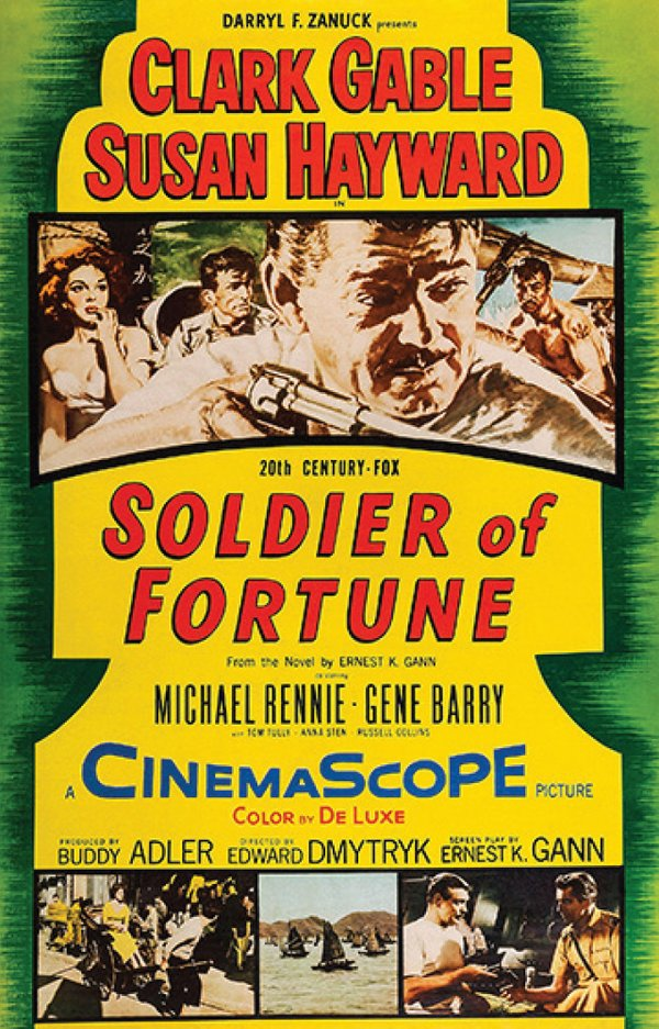 Soldier of Fortune movie poster