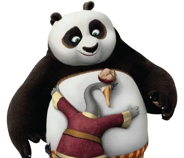 Mr. Ping from the movie Kung Fu Panda
