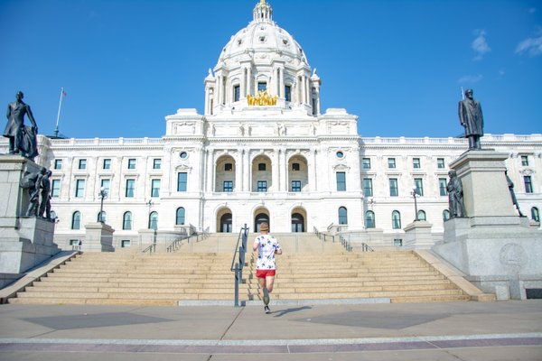 Mikah Meyer Running to the State Capitol