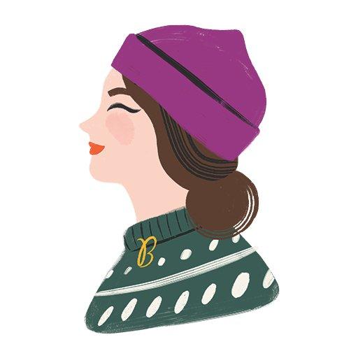 Ms. B Winter Illustration
