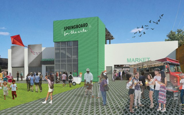 Rendering of the Springboard for the Arts, in St. Paul