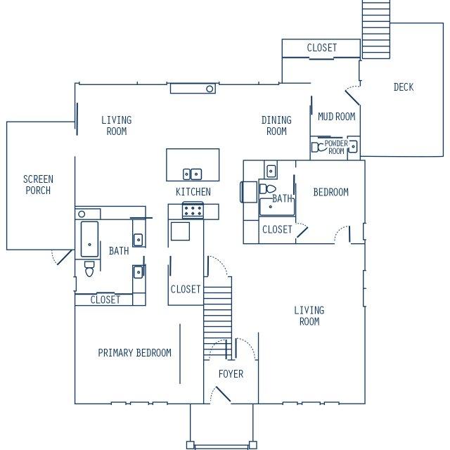 main floor blueprint