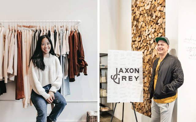 Thao Nguyen and Jaxon Grey