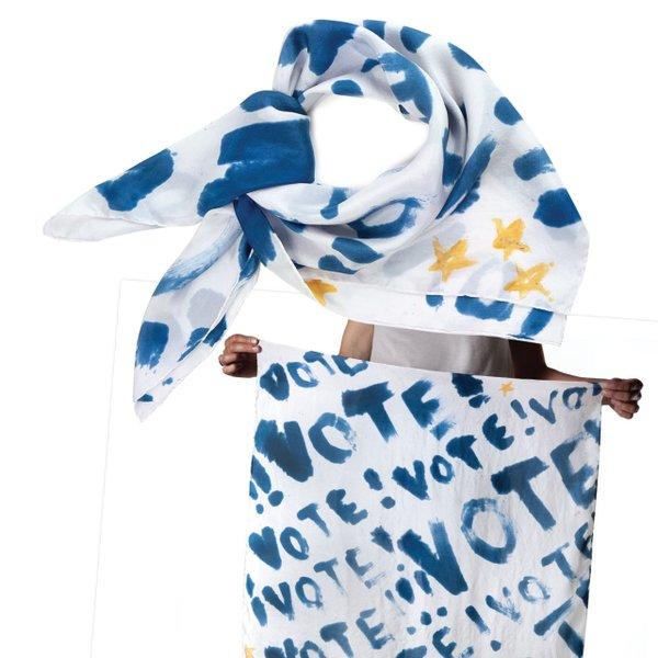 Vote scarf