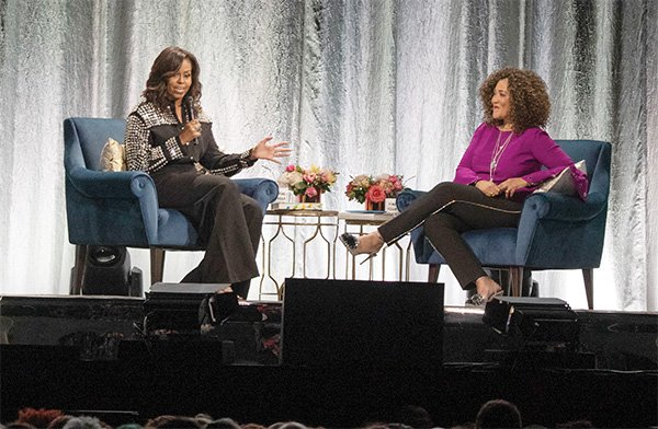 Michele Norris and Michelle Obama