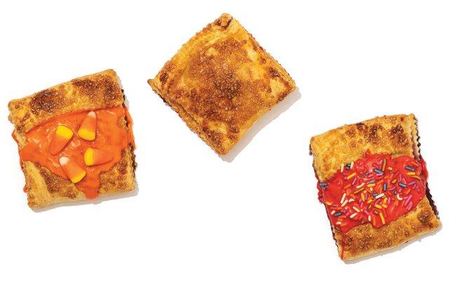 three types of pop tarts