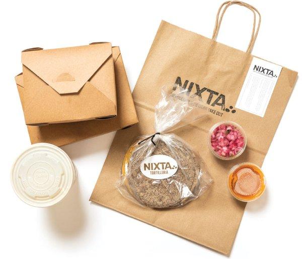 Nixta to-go containers