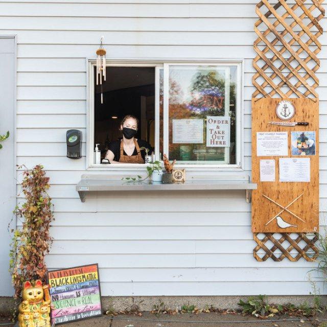 Tori Ramen's Pickup window