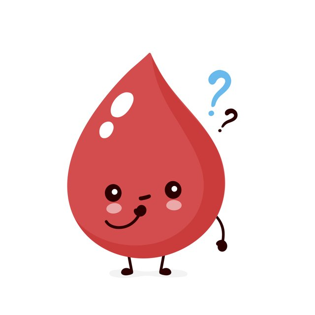 Blood Type Illustration