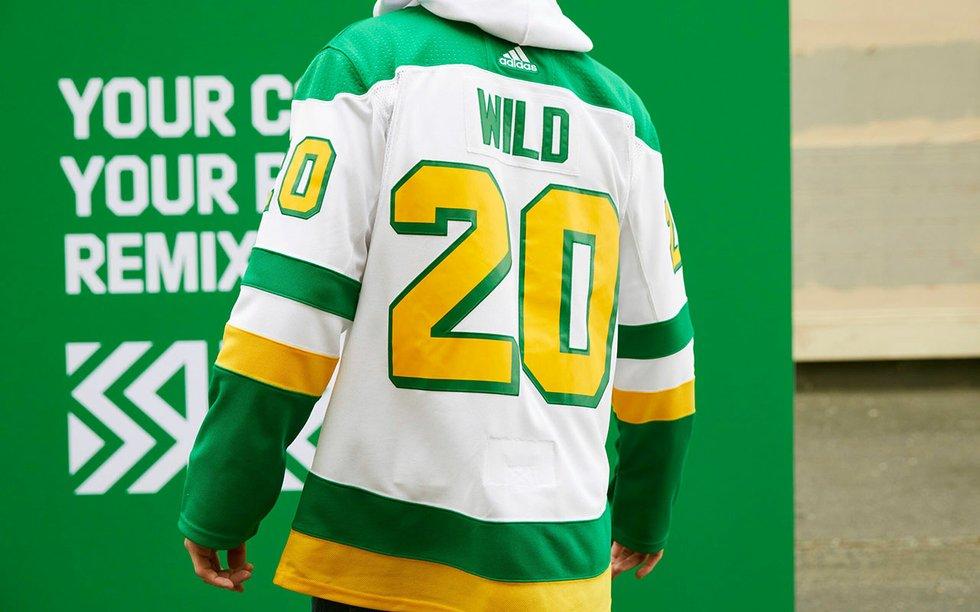 Wild Debuts New Retro Jersey - Mpls.St.Paul Magazine