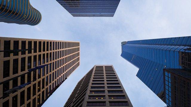 Downtown Minneapolis office buildings