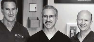 Faces Of 2020 -Pain Management - David Schultz, MD_Peter Schultz, MD, MPH_R. Scott Stayner, MD, PHD