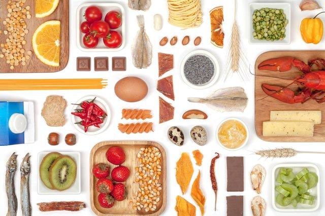 Various Allergy Food