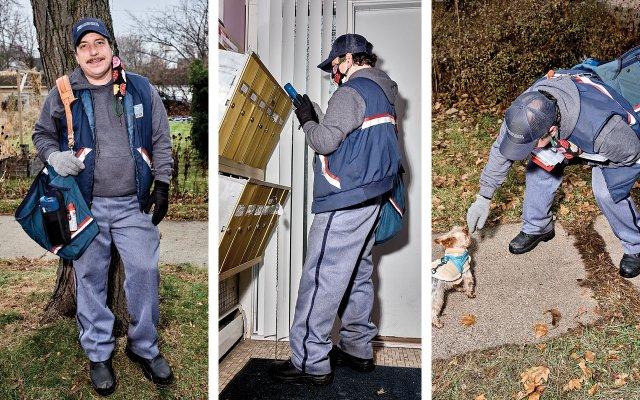 Sean Tillmann, AKA Har Mar Superstar at day job as Postal worker