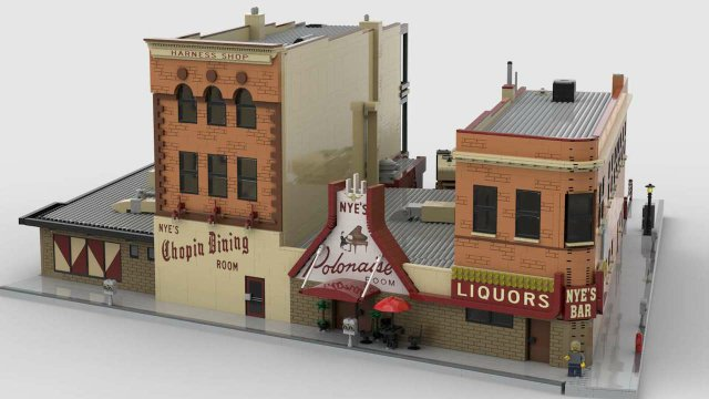 Nye's—in LEGO form