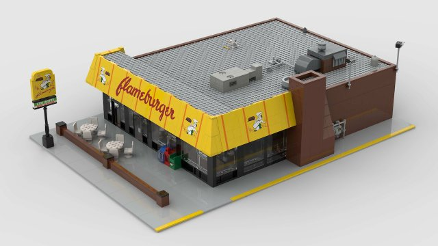 LEGO Flameburger