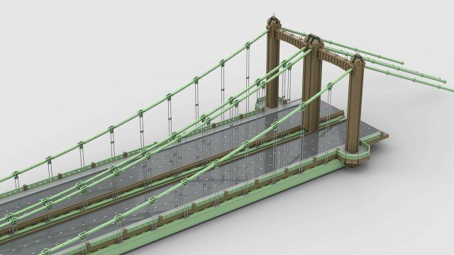 LEGO Hennepin Avenue Bridge