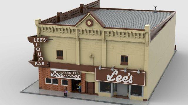 LEGO Lee's exterior