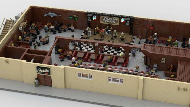 LEGO Lee's interior