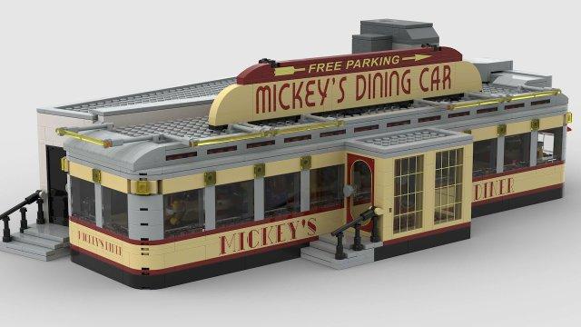 LEGO Mickey's Dining Car
