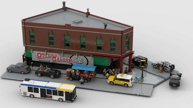 LEGO Otter's Saloon
