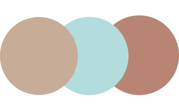 Three colors from PPG, Transcend, Misty Aqua, Big Cypress