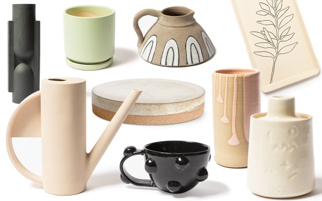 locally sourced artisan ceramics
