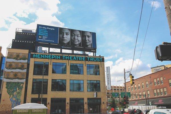 Hennepin Theatre Trust Billboard