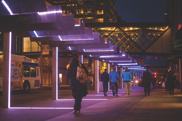 Downtown Minneapolis Light Walk
