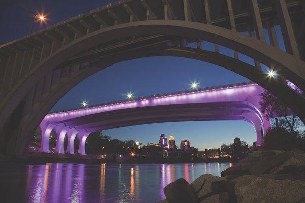 35W Bridge at Night