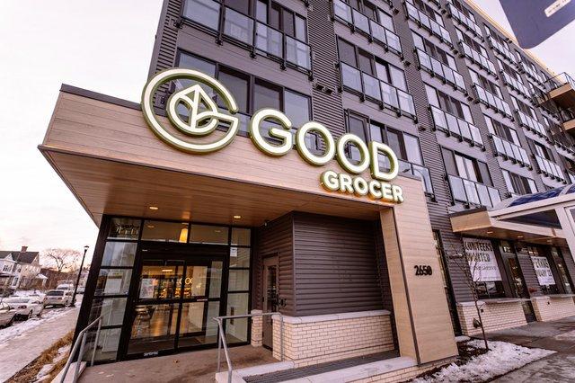 good grocer building