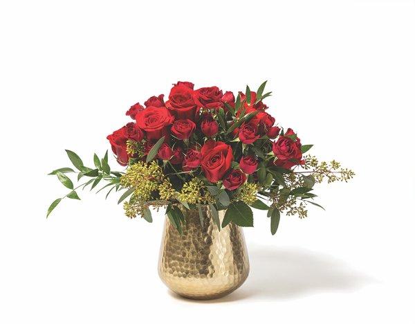 24 Carat Rose Arrangement