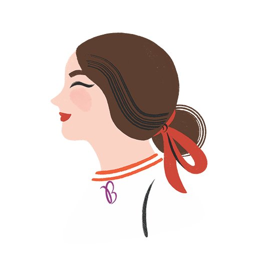 Ms. B February Illustration
