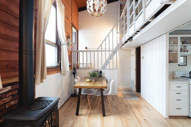 Hygge House interior