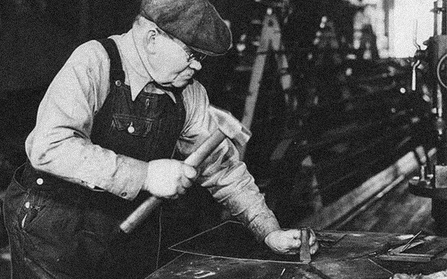 John Strauss of Strauss Skates, 1919