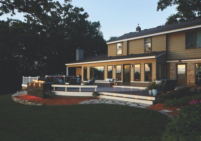 Deck Living Designed by TimberTech