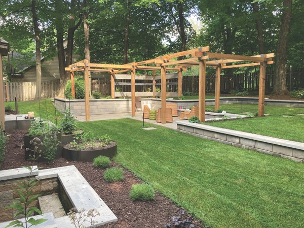 Landscaping by By The Woods Custom Landscaping