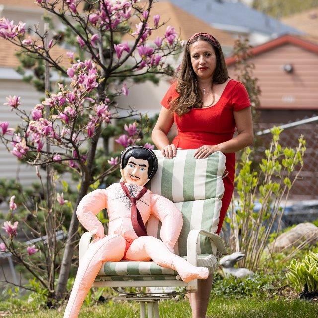 Gina Hessburg and Rafael