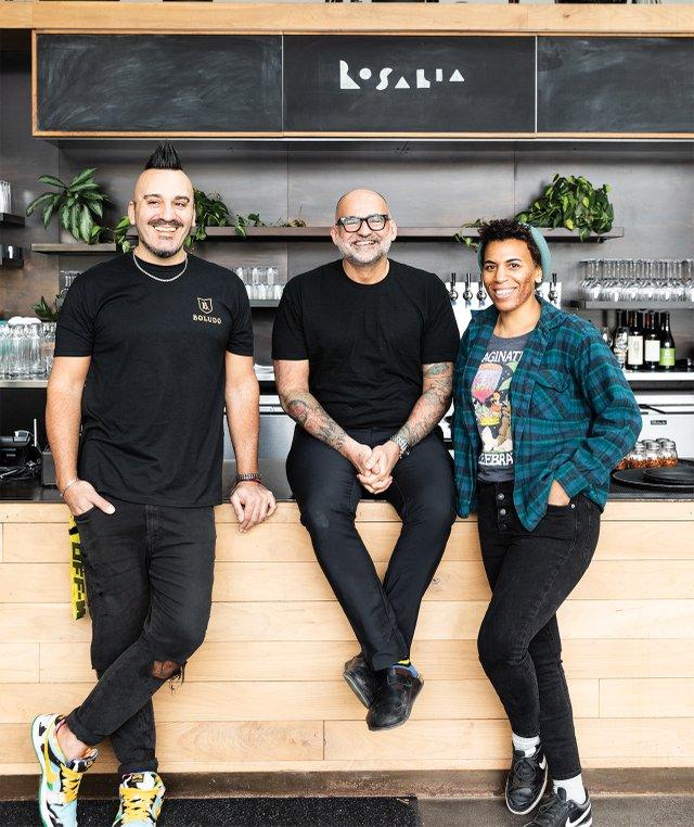 Facundo DeFraia, Daniel del Prado, and Shawn McKenzie