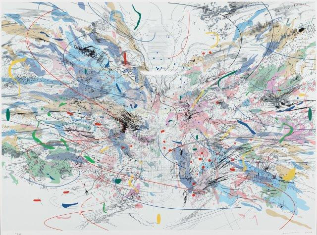 Julie Mehretu, Entropia Review