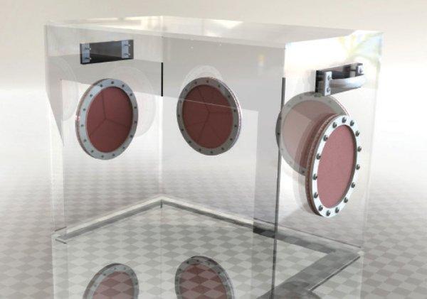 Clear Ventilator box