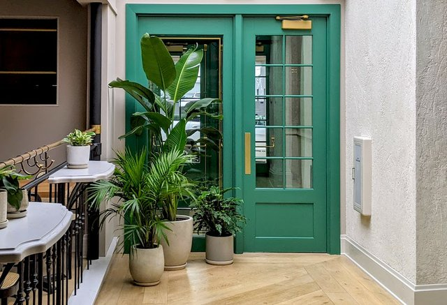 green door at josefina