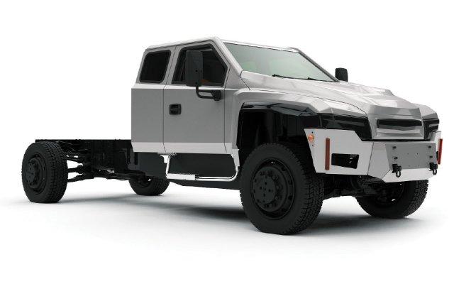 Zeus electric truck